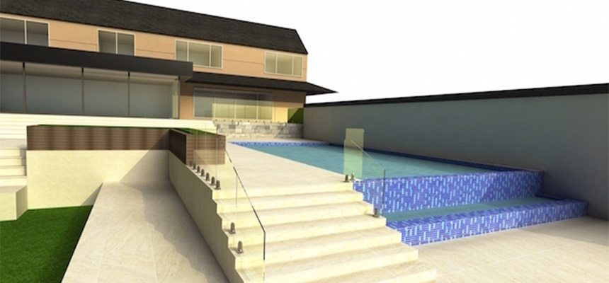 cad design for pool