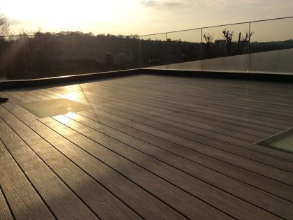 composite decking rooftop balcony 33
