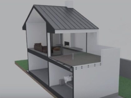 installing decking over waterproof membrane