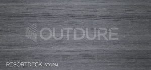 STORM RESORTDECK Slate Inspired Grey Coloured Deck