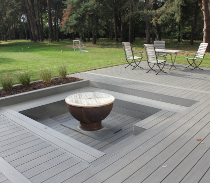 Grey Composite Decking Board