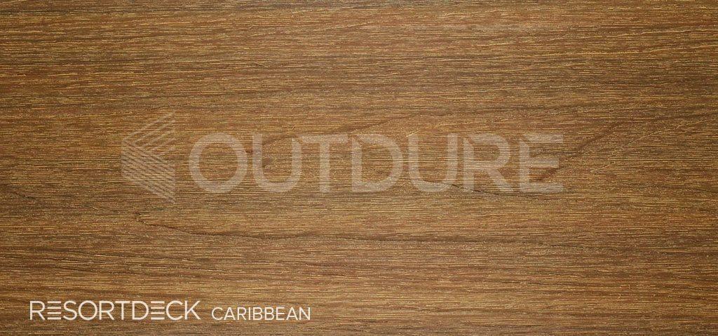 CARIBBEAN RESORTDECK Light Teak Coloured Deck