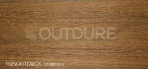 CARIBBEAN RESORTDECK Light Teak Coloured Deck