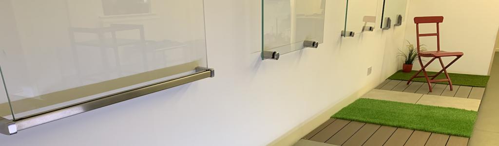 Decking, Turf, Tiles, Fencing & Balustrade Showroom